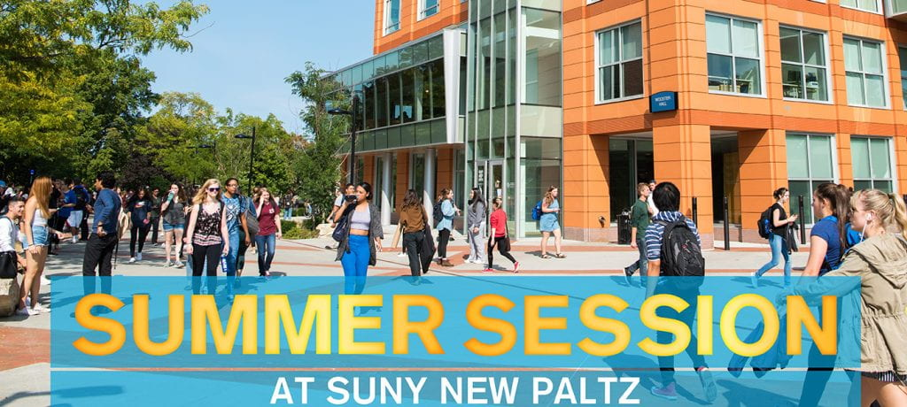 Summer Session at SUNY New Paltz