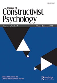 Journal of Constructivist Psychology cover, Vol 31(4), 2018