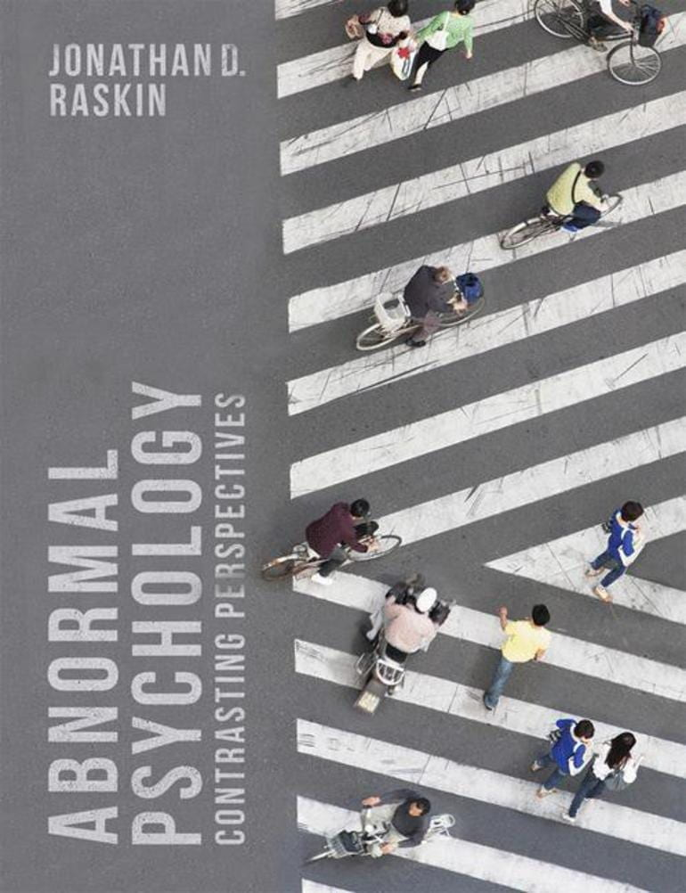 """""""Abnormal Psychology: Contrasting Perspectives"""" book cover"""