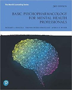"Cover of ""Basic Psychopharmacology for Mental Health Professionals (3rd Edition)"""