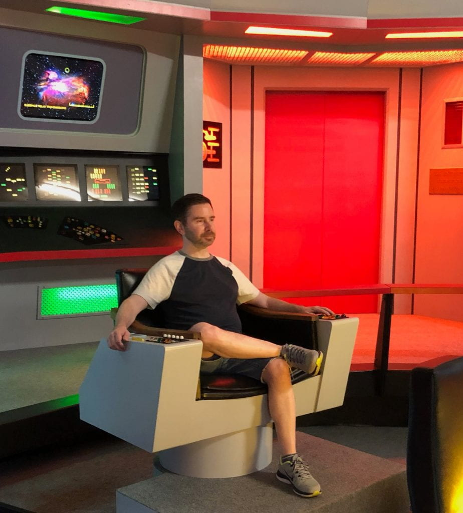 Raskin helms Enterprise