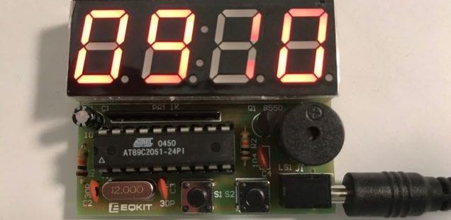 YSZ-4 Electronic Clock
