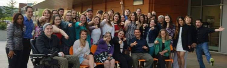 New Paltz psychology students and faculty photo