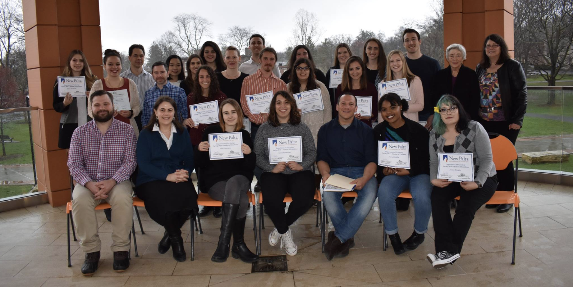Student Awards Ceremony, Spring 2018