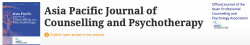 Asia Pacific Journal of Counselling & Psychotherapy