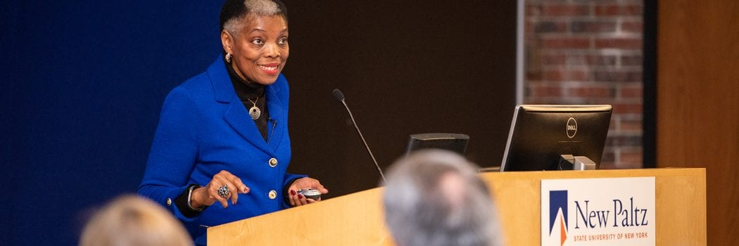 More Hope, Less Blame: Rosie Phillips Davis targets deep poverty in Distinguished Speaker Address