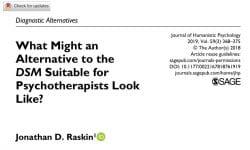 Image of Raskin (2019) article on DSM-5 alternatives