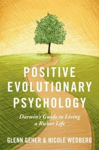 "Book cover, ""Positive Evolutionary Psychology"""