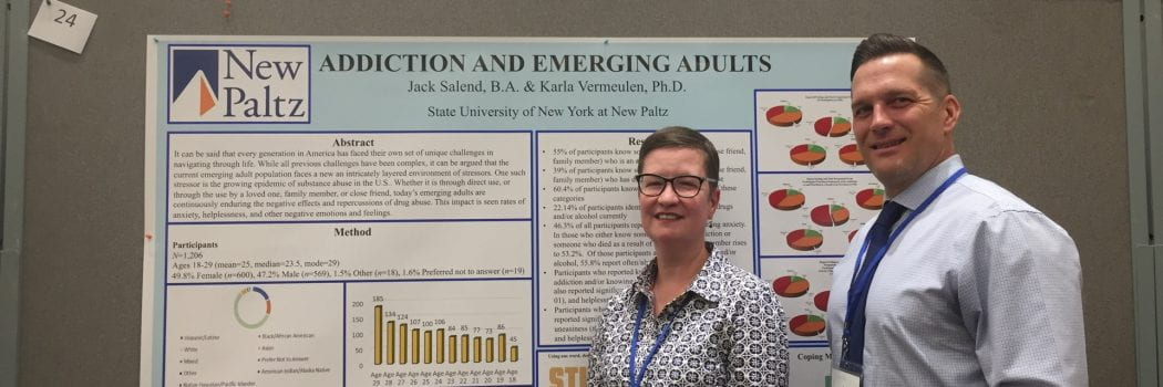 Associate Professor Karla Vermeulen Presents at Society of Emerging Adulthood Conference