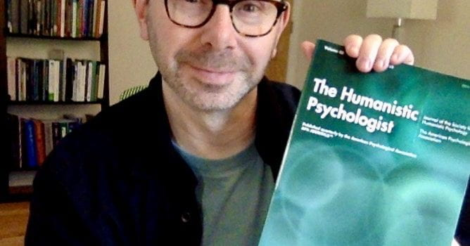 Department Chair Jonathan Raskin's Interview with Master Psychotherapist Jay Efran