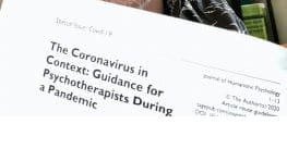 Guidance for Psychotherapists During the Coronavirus Pandemic
