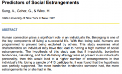 front page of journal article