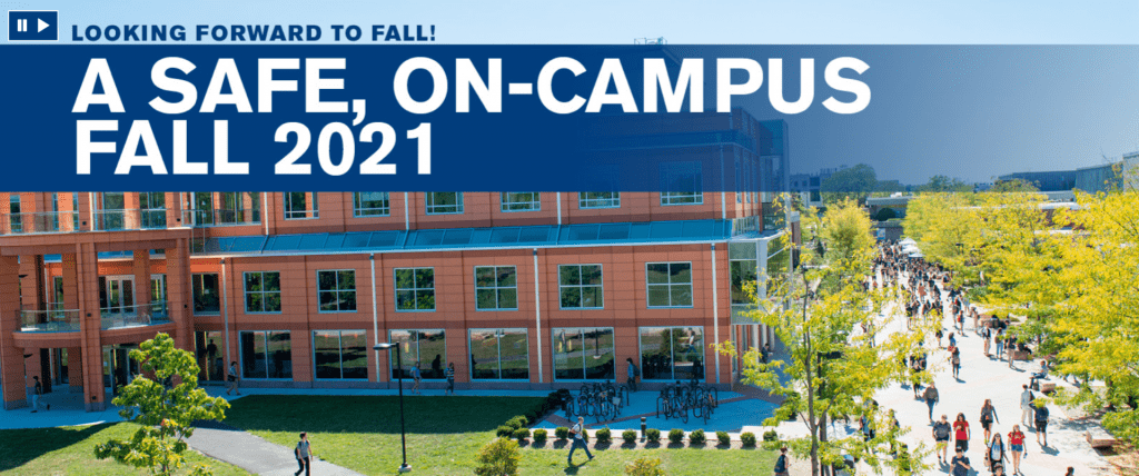 Wooster / Safe Fall 2021 Campus Image