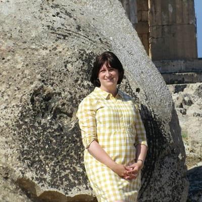 Professor Keely Heuer On-Site