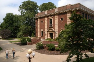 This is McElhaney Hall, home of IUP Archaeology.