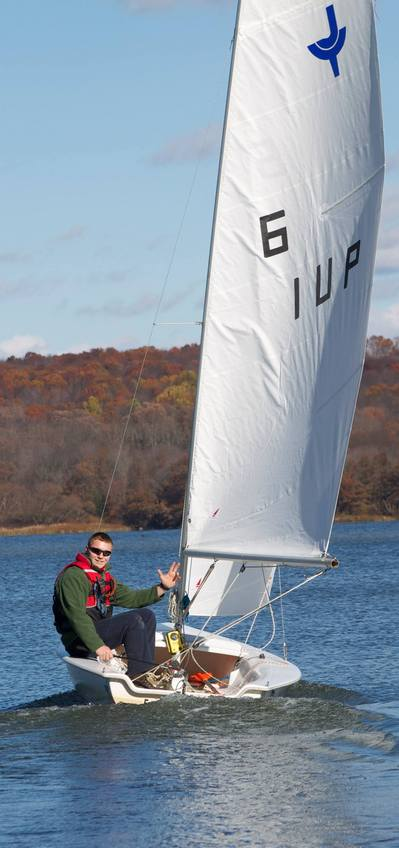 Fall Sailing at IUP