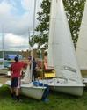 Sailing Club - First Sail, Sept 9, 2012