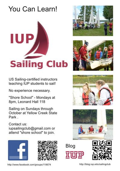 Sailing Club Fall 2012