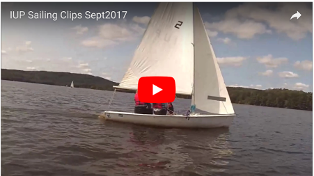 IUP Sailing (video clips) September 2017