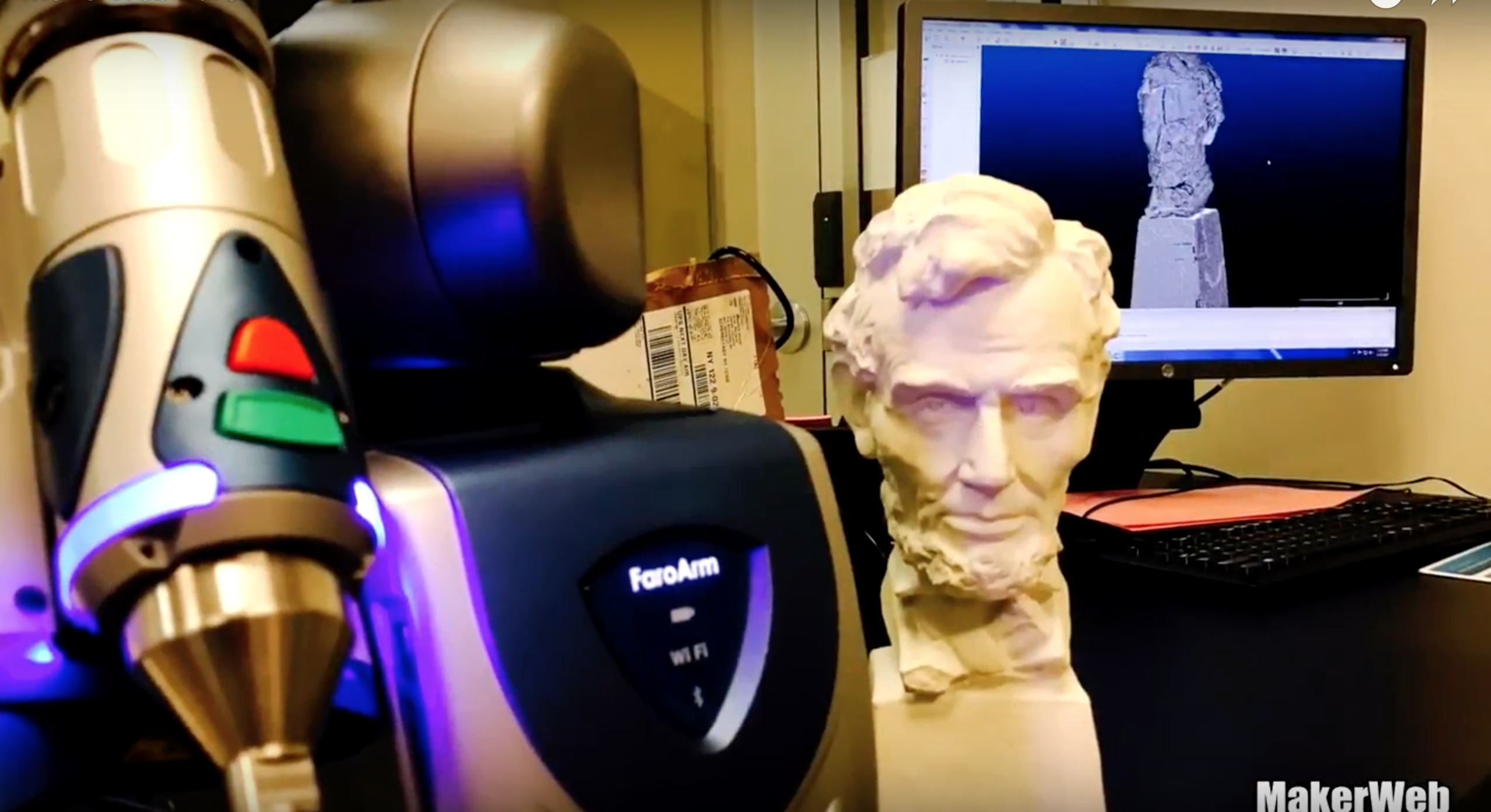 3D Scanning with the FaroArm