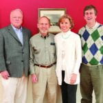 Byron Nichols, Alan and Susan Maycock, and Inaugural Fellow Stephen Schmidt.