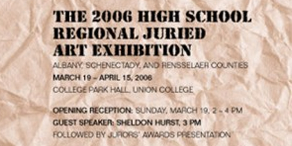 The 2006 High School Regional Juried Art Exhibition