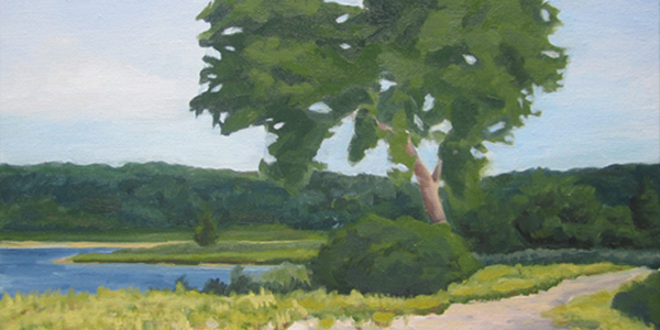 Landscape Impressions, Chasing the Light: Oil Paintings by Brittany Gilbert