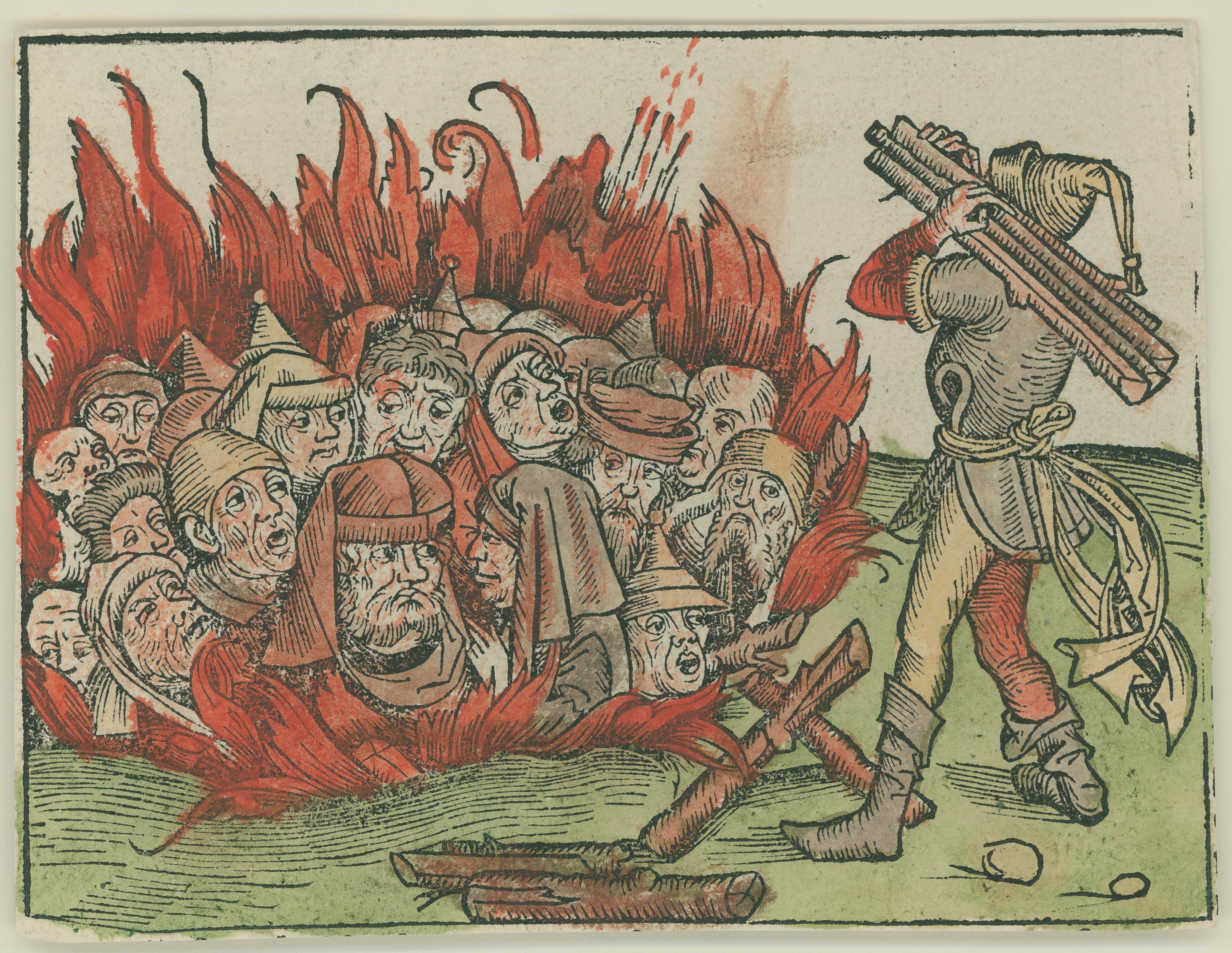 Michael Wolgemut, <i>Untitled</i>, woodcut on paper, 1453