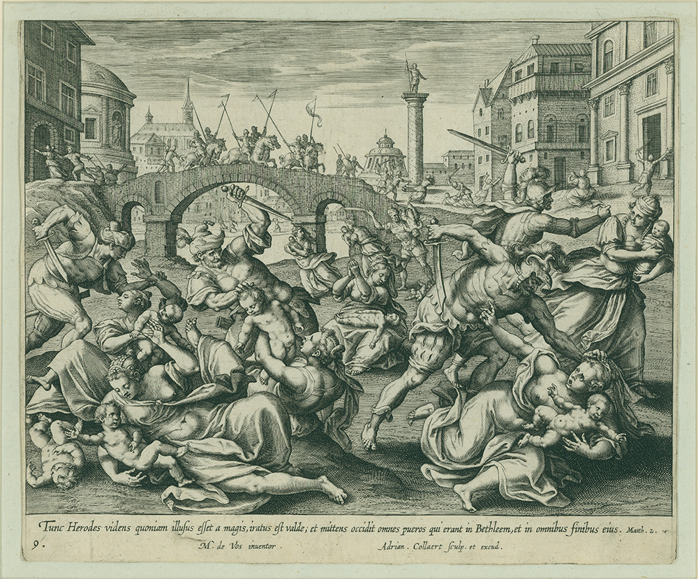 Slaughter of the Innocents by Adriaen Collaert
