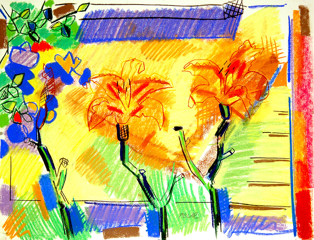 Day Lilies by Bruce McColl