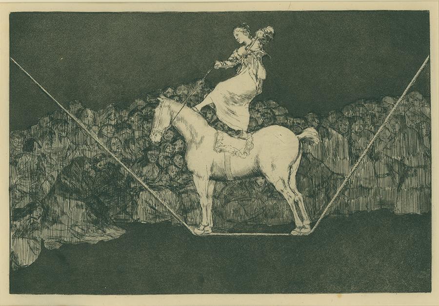 Los Proverbios by Francisco José de Goya