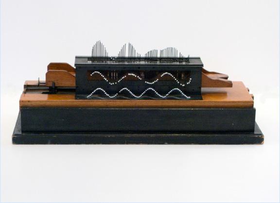 Wheatstone's Wave Machine by Rudolph Koening