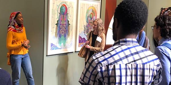 Student Docent Talks @ Mandeville Gallery, November 7, 2019, 12:55-1:45 PM