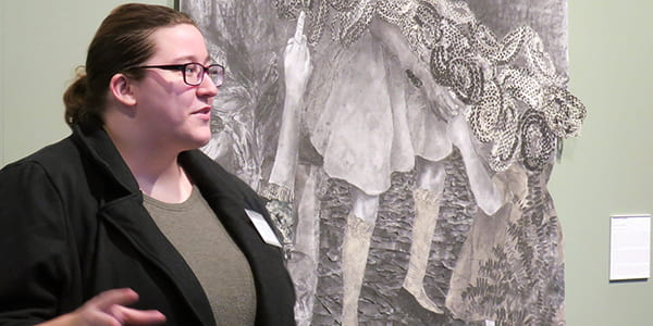 Student Docent Talks @ Mandeville Gallery, January 16, 2020, 12:55-1:45 PM