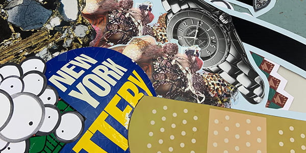 Collage Night with Juan Hinojosa, April 6th, 2020, 5:30 – 7:00 PM