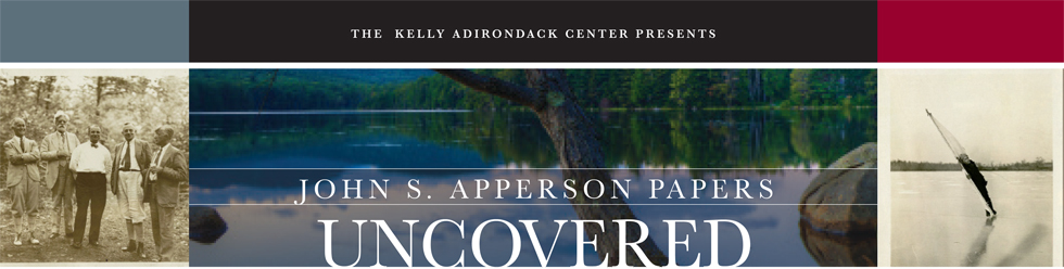 John S. Apperson Papers uncovered