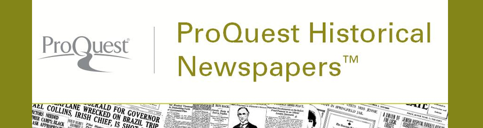 New Historical Newspapers added