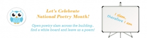 Let's Celebrate National Poetry Month