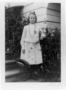Ethel Roosevelt Fall 1901