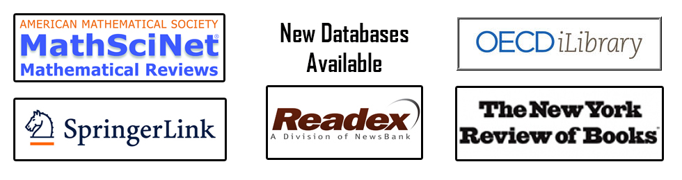 Access to New Databases