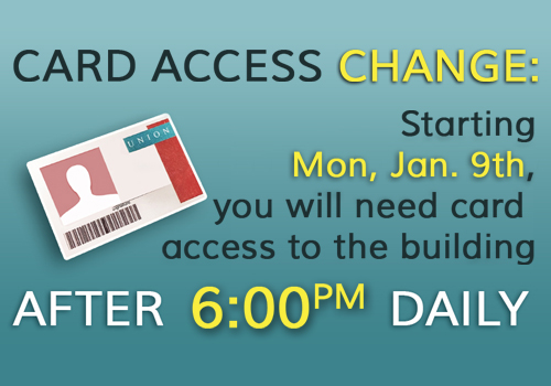 6pm Library Card Access