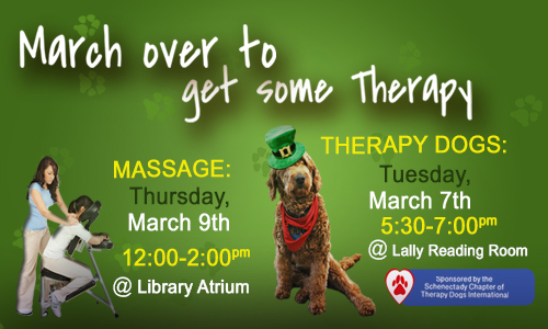 March Over to De-stress!