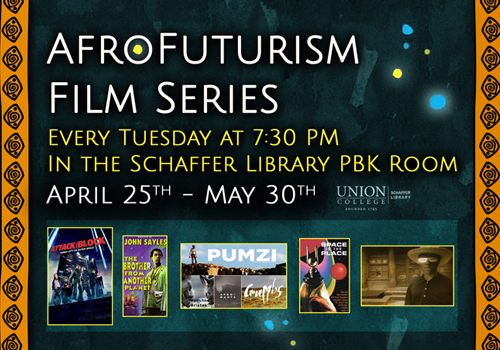 AfroFuturism Film Series:  Tuesdays @7:30pm