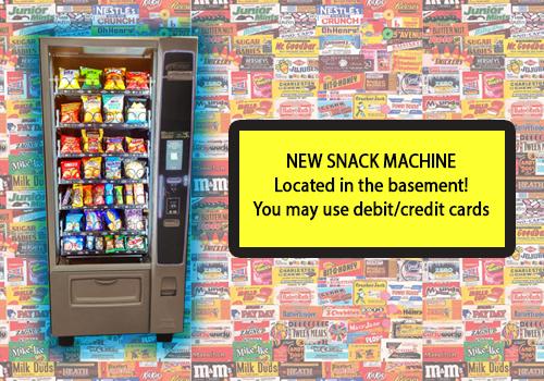 New Snack Machine