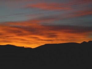 Pioneertown sunset