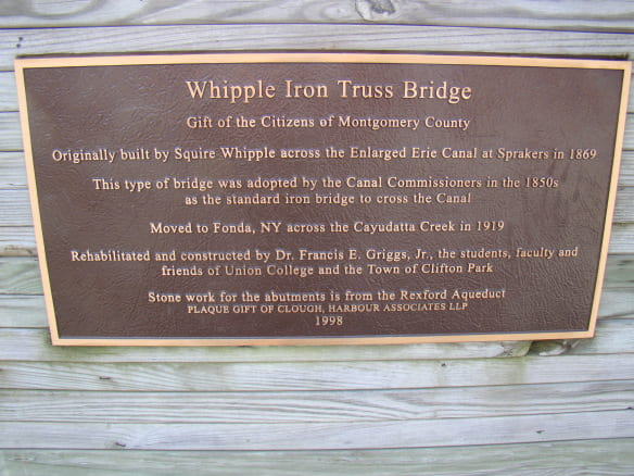 Whipple Bridge sign