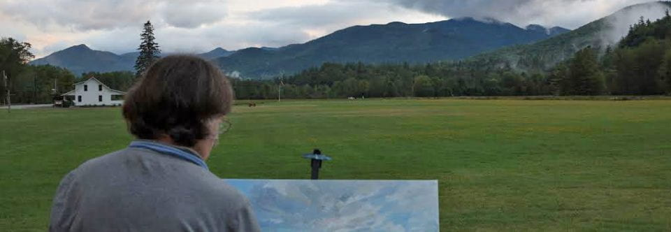 Art Exhibition | Anne Diggory:  On Location in Keene Valley and Lake George