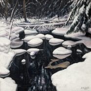 Winter to Spring: Adirondack Paintings by Sandra Hildreth