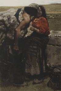 1980, oil painting on wood, 79 x 52 cm