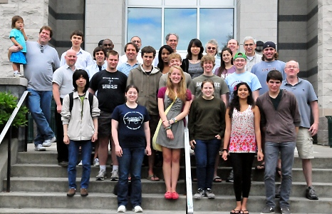Summer research students and faculty 2011